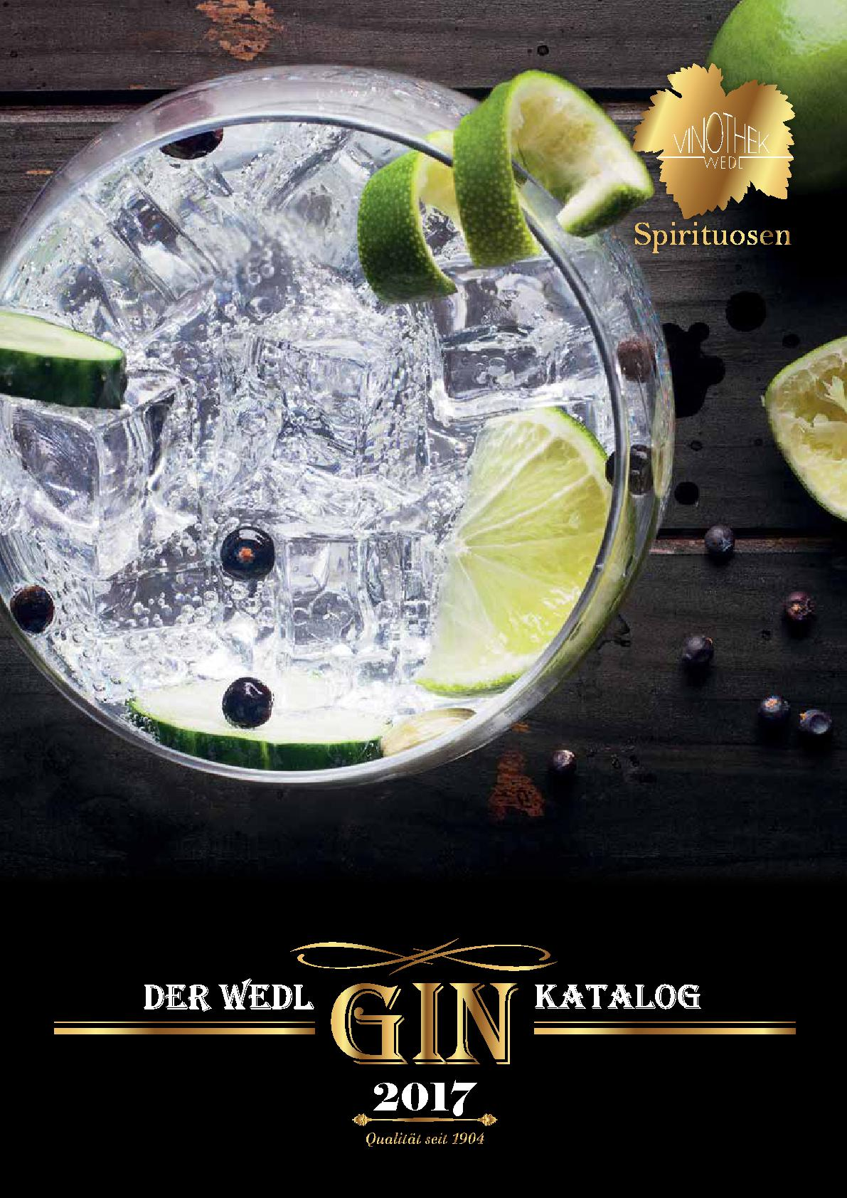 Gin bei Wedl