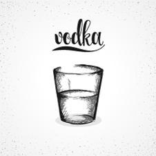 Wodka Illustration