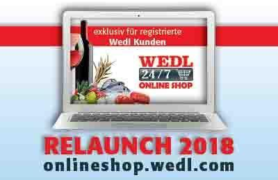 Wedl 24/7 Onlineshop Relaunch 2018